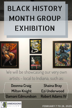 Black History Month  – Group Exhibition