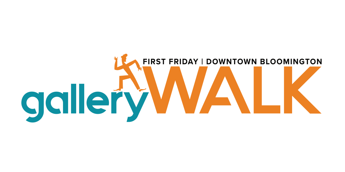 Dimensions Gallery is part of the Gallery Walk - First Friday in Downtown Bloomington